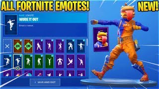 Download *NEW* BEEF BOSS ″Durrr Burger″ SKIN SHOWCASE WITH ALL FORTNITE DANCES & EMOTES! Video