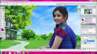 Download how to change background adobe photoshop 7.0 in hindi Video