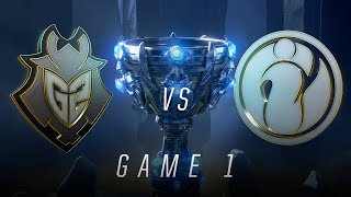 Download G2 vs IG | Semifinal Game 1 | World Championship | G2 Esports vs Invictus Gaming (2018) Video