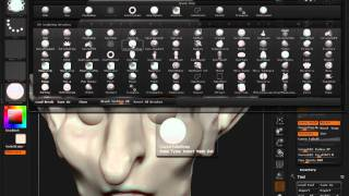 Download ZBrush 4R2 Tip # 2: Eye Lids Video