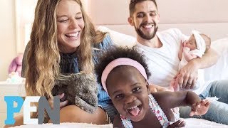 Download Country Singer Thomas Rhett & Wife Lauren On Welcoming Daughters Within Three Months | PEN | People Video