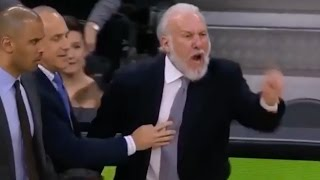 Download Gregg Popovich Yells: ″You're a Terrible Referee,″ Gets Ejected TWICE in the Same Game Video