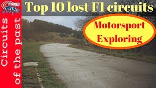 Download Top 10 lost F1 Circuits - Circuits of the past Video