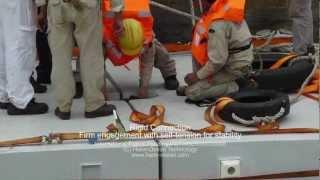 Download Concrete-steel Composite Modular Pontoons Video