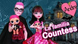 Download La familia LOL Countess prepara una fiesta | Muñecas y juguetes con Andre para niñas y niños Video