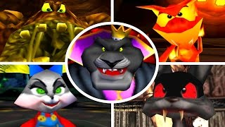 Download Conker's Bad Fur Day - All Bosses (No Damage) Video