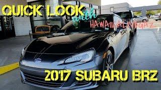 Download QUICK LOOK 2017 Subaru BRZ Video