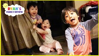 Download Hide N Seek Family Fun with Twin Babies at the Hotel Great Wolf Lodge and Eating Ice Creams Video