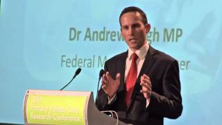 Download Opening the 2012 Primary Health Care Research Conference Video