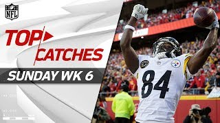 Download Top Catches from Sunday | NFL Week 6 Highlights Video