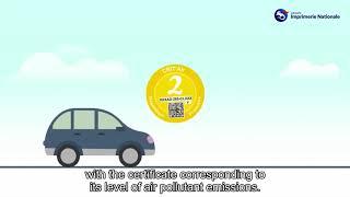 Download Certificat qualité de l'air / Vignette crit'air - version ENG Video