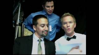 Download Writing The Closing Number-Backstage at the Tonys Video