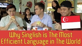 Download Why Singlish Is The Most Efficient Language In The World - TSL Comedy | EP 28 Video