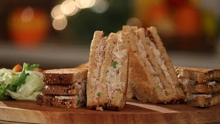 Download Tuna Sandwich | Not So Junky - by Chef Siddharth | Sanjeev Kapoor Khazana Video