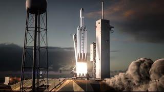 Download Falcon Heavy | Flight Animation Video