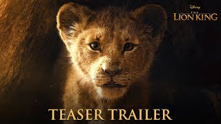 Download The Lion King Official Teaser Trailer Video
