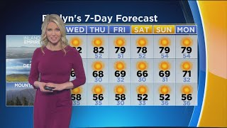 Download Evelyn Taft's Weather Forecast (Dec. 11 ) Video