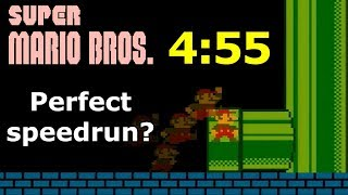 Download Is 4:55 the perfect speedrun? Super Mario Bros. World Record Explained Video