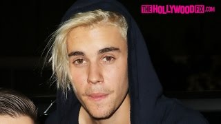 Download Justin Bieber Is Drunk Leaving The Nice Guy With A New Girlfriend & Argues With Paparazzi 2.8.16 Video