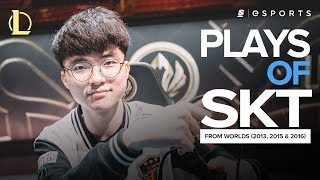 Download The BEST SK Telecom T1 plays from Worlds (2013, 2015, 2016) ft. Faker, Impact and Marin Video