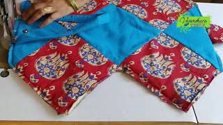 Download How to Make Handbag With Waste Cloth Pieces    Hand Bag Stitching At Home Video
