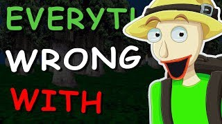 Download Everything Wrong With Baldi's Basics Kickstarter Field Trip Demo in 3 Minutes Video