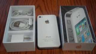 Download White iPhone 4 Official Unboxing Video