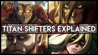 Download The Great Titan War And The 9 Titan Shifters Explained - Attack On Titan | Shingeki no Kyojin Video