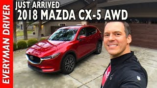 Download Just Arrived: 2018 Mazda CX-5 AWD on Everyman Driver Video