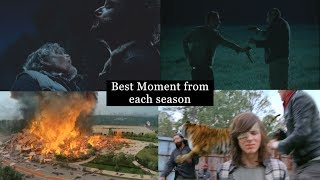 Download The Walking Dead - Best Moment From Each Season (S1-S7) Video