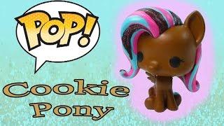 Download DIY Custom POP Vinyl My Little Pony MLP Fluttershy Painted Chocolate Cookie Glitter Toy Cookieswirlc Video