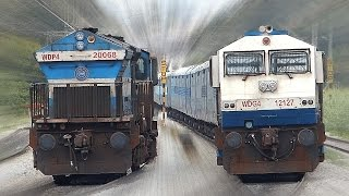 Download CLASHING Trains INDIAN RAILWAYS Unlimited ! Video