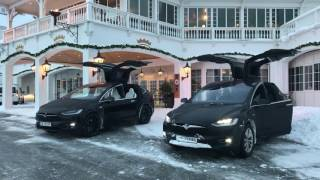 Download TESLA MODEL X CHRISTMAS SPECIAL XMAS EASTER EGG Video