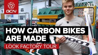 Download How Are Carbon Fibre Bikes Made?   LOOK Cycle Factory Tour Video