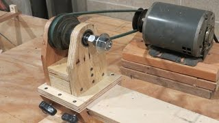 Download Homemade Lathe Pt. 1 - The headstock and base Video