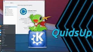 Download Kubuntu 18.10 with KDE Plasma 5.13.5 Review Video