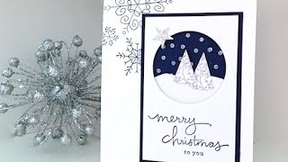 Download Simply Simple FLASH CARD - Snow is Falling Christmas Card by Connie Stewart Video