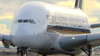 Download 10 SUPER CLOSE UP TAKEOFFS | A340 A380 787 | Melbourne Airport Plane Spotting Video