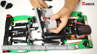 Lego Technic Aircraft Tug XL - building instructions Free Download