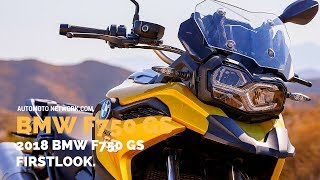 Download 2018 BMW F 750 GS | Design & Riding Impressions. Video