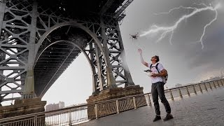 Download DRONE IN A LIGHTNING STORM Video