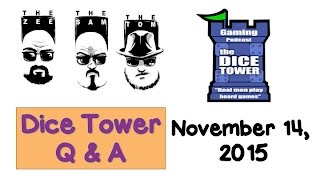 Download Live Q & A with the Dice Tower Guys - November 14, 2016 Video