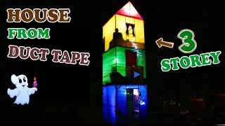 Download 3-STOREY HOUSE FROM DUCT TAPE - DIY Video