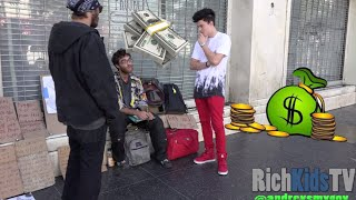 Download Giving out $30,000 CASH to the Homeless!! Video