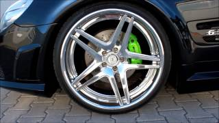 Download ★ Mercedes SL r230 AMG 63 | PD-Series | Black-Series Umbau | 20″ DPE SP SC 05 V.2 by M&D Video