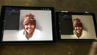 Download iPad Pro 10.5 Artist Review (vs original iPad Pro 12.9) Video