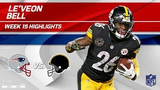 Download Le'Veon Bell Highlights   Patriots vs. Steelers   NFL Wk 15 Player Highlights Video