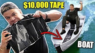 Download THIS WATERPROOF TAPE IS UNRIPPABLE (IMPOSSIBLE FLEX TAPE EXPERIMENT) STRONGEST TAPE EVER MADE Video