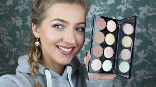 Download Makeup Revolution Ultra Contour Palette Review & Swatches!! Video
