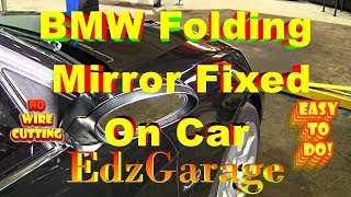 Download FIXED BMW Folding Mirror Issue Without Removing or Wire Cutting Video